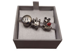 Charms Disney Minnie or Mickey Mouse set of 3. Beautiful genuine gift