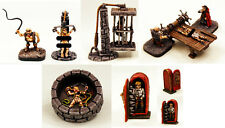 25mm Dungeon Fantasy Miniatures-Tabletop Miniatures-Classic Unpainted Sets-List1