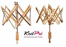 KnitPro Swift Skein Winder Wool Winder - Signature Symfonie Wood or Natural