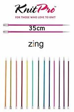 Knitpro Circular Knitting Needle Zing Aluminum Colourful Coated all Sizes