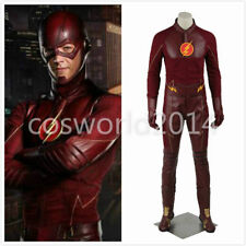 The Flash Season 1 Barry Allen Costume Cosplay Déguisement Set Halloween