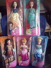 NEW Disney Princess- Royal Shimmer Snow White Ariel Aurora Cinderella Pocahontas