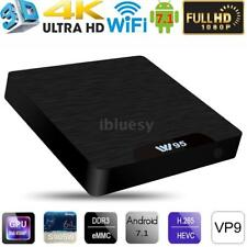 W95 Android 7.1 TV BOX S905W Quad Core 2.4GHz WiFi Media HD Player 1G+8G/2G+16G