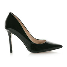 GUESS SCARPE DONNA decollete a punta BAYAN IN VERNICE BLACK FLBY73PAT08
