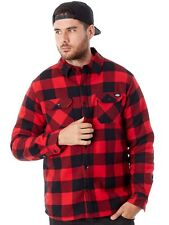 Chemise à manches longues Dickies Lansdale Rouge