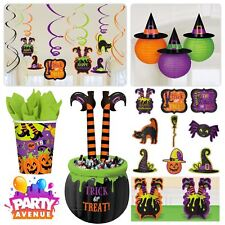 Witches' Crew Halloween Party Tableware Decorations Family Friendly