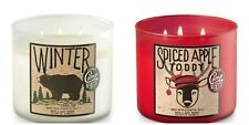 Buy 1 Get 1 25% Off (Add 2 to Cart) WINTER Bath Body Works 3 Wick Candle 14.5oz