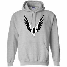 LOGAN PAUL MAVERICK HOODIE BLACK AND WHITE MAVERICK LOGANG JAKE PAUL