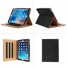 magnético PIEL GENUINA SMART Funda libro para Apple iPad 5 6 AIRE 2 PRO 9.7″
