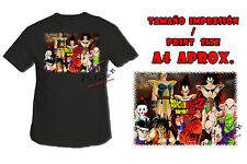 T-SHIRT SAIYAN DRAGON BALL SAGA NERA tshirt custom es