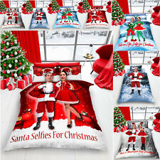 XMAS Duvet Cover Bedding Set Selfie Christmas Quilt With Pillowcase 5 New Design