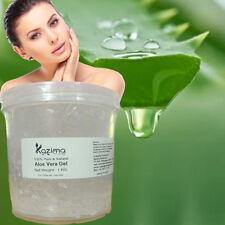 KAZIMA Pure Natural Raw Aloe Vera Gel - Used For Skin care, Reduces Acne, Hair