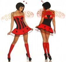 sexy COCCINELLE CARNAVAL devise Costume fête Beetle ANIMAL Costume S M 4tlg