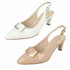 Ladies Merlina White/Sand Slingback Court Shoes by Peter Kaiser - £59.99
