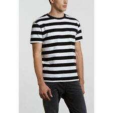 Levi's Made & Crafted Classic One Pocket Tee Stripes  t-shirt black/white NWT