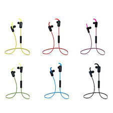 (10pcs)Stereo Hi-Fi Wireless Bluetooth Headphones Sports Earbuds f
