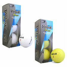 New Volvik DS55 Color Golf One Sleeve (3) Balls - Random Number - Pick Colo