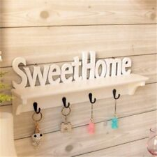 Sweet Home Style Wall Mounted 4 Hooks Storage Organizer Rack Wall Hanger