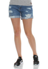 SuperDry JEANS SHORTS DONNE Steph boyfriend BREVE AUTHENTIC metà