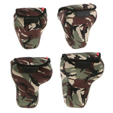 Camo DSLR Camera Shockproof Shoulders Bag Case Waterproof Bag for Canon Sony