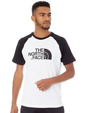 Camiseta con mangas raglan The North Face Easy TNF Blanco-TNF Negro