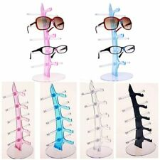 Practical 5 Layers Eyeglasses Glasses Display Stand Rack Holder Shelf 3 Colors