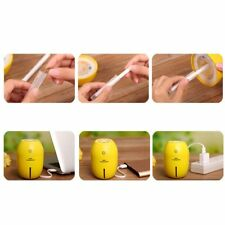 Humidifier Lemon Night LED Home Office Air Diffuser Purifier USB Charging