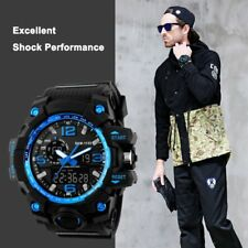 Men's Sports Watches LED Backlight Watch Wristwatch Waterproof Outdoor Sports