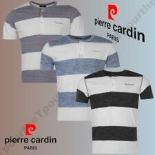 @TOP 2017@ MAGLIETTA PIERRE CARDIN PARIGI STRIPED HENLEY UOMO MAGLIETTA S HA 2XL