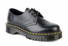 DR MARTEN scarpe DERBY DONNA 1461 21084001 SMOOTH BLACK AI17