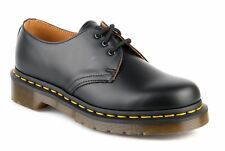 DR MARTENS scarpe DERBY DONNA 1461 10085001 SMOOTH BLACK AI17