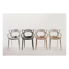 IT- Sedia Kartell MASTERS metallizzata tre finiture Precious