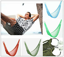 New Mini Net Hammock PORTABLE Camping Travel Sleeping Garden Bushcraft Bed
