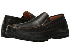 NEW Mens SPERRY TOP-SIDER Black Leather GOLD CUP TWIN GORE Slip On Loafers Shoes