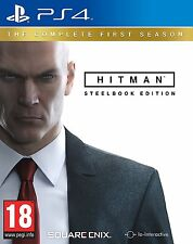 Hitman: The Complete First Season Steelbook Edition (PS4) NEW SEALED PAL