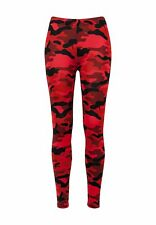 Urban Classics Ladies Camo Leggings TB1331 Red Camo