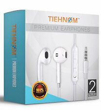 2-Pack Earbuds Headphones Headset Earphones with mic And Volume Contro