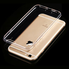 New Transparent Crystal Clear Case for iPhone 8 7 6s 6 Plus Gel TPU Soft Cover