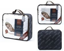 HOTEL COLLECTION QUILTED MATTRESS & PILLOW PROTECTORS ALL SMALL DOUBLE 4F