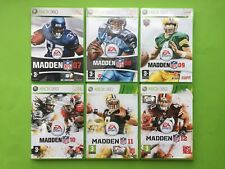 Madden NFL 07 08 09 10 11 12 Xbox 360 PAL American Football + Free UK Delivery