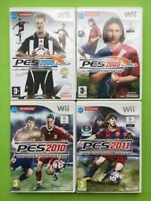 Pro Evolution Soccer 2008 2009 2010 2011 Wii PAL PES Football Games Selection