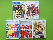 Disney High School Musical Games Selection Nintendo Wii PAL