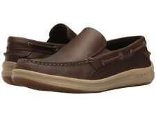 NEW Mens SPERRY TOP-SIDER Riverboat Brown Leather GAMEFISH Slip On Loafers Shoes
