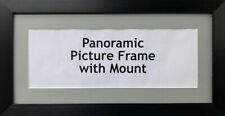 New Panoramic Picture Poster Frames Grey Mount | Multiple Sizes Photo Framing
