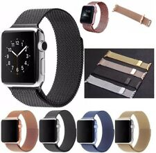 Milanese Loop Mesh Stainless Steel Watch Band Strap For Apple iWatch 38mm 42mm
