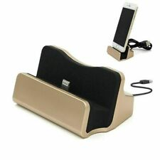 Desktop Charging Stand Dock Station Cradle Charger for iPad iPhone 5/5S 6/6S 7+