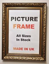 Antique Gold Picture Frame 60 mm wide, All Sizes | Photo Picture Frames U.K.
