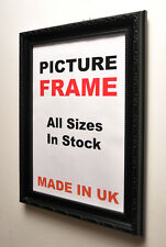 Black Ornate Picture frame All Sizes | Picture Photo frames | Made in UK