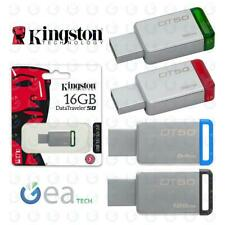 KINGSTON Pendrive DT50 16GB 32GB 64GB USB 3.1 Chiavetta ORIGINALE Memory Stick