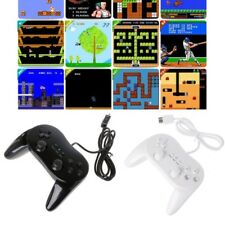 Classic Wired Controller Game Gaming Remote Pro Gamepad Shock For Nintendo Wii